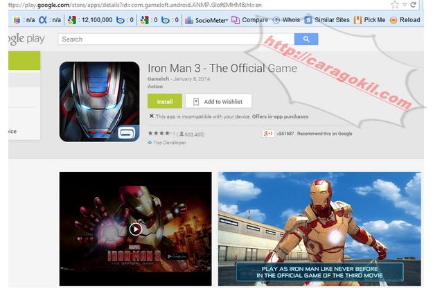Cara Download Aplikasi Android Di Playstore