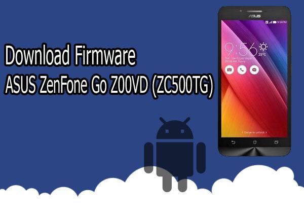 Firmware ASUS ZenFone Go Z00VD (ZC500TG) V12.1.0.62 for WW