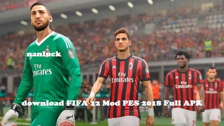 Game FIFA 14 Mod PES 2018 Apk