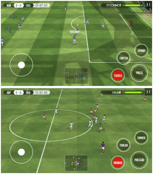 Download Real Football 2017 v1.4.0 Apk Mod Unlimited Money