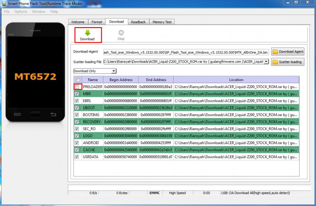 Cara Flash Oppo Neo R831 100% Berhasil Via SP Flashtool