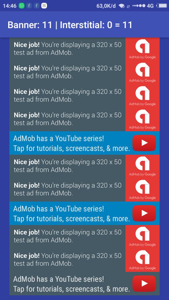 admob impression premium