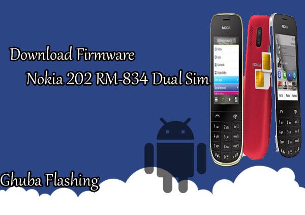 Download Firmware Nokia 202 RM-834 Dual Sim Version 20.52 Bi