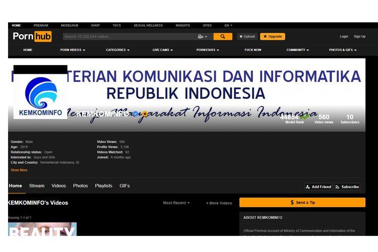 Pencemaran Nama Baik, Kominfo Laporkan Pornhub ke Polisi