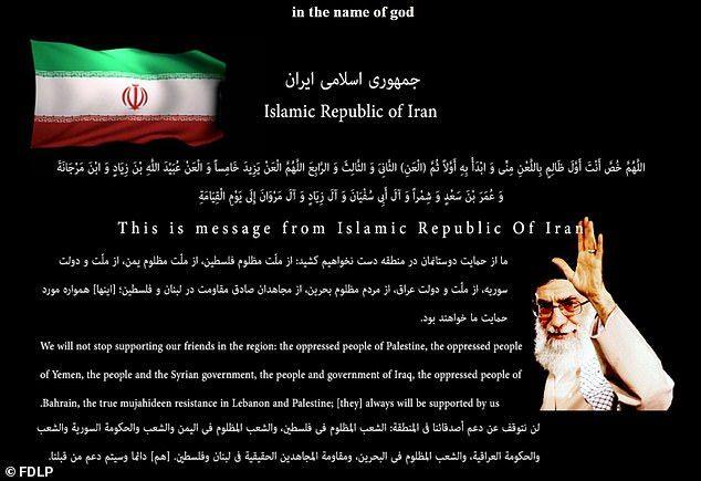 Situs Pemerintah AS Diserang Hacker Iran