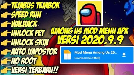 Download Among Us Mod Menu Apk 2020.9 9