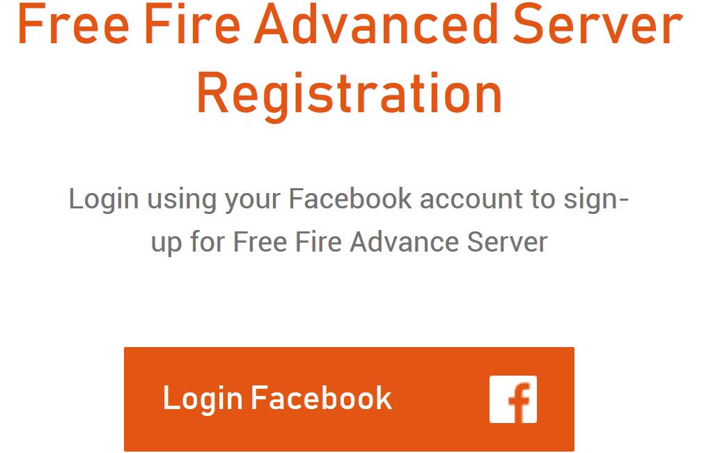 Advance Server Free Fire