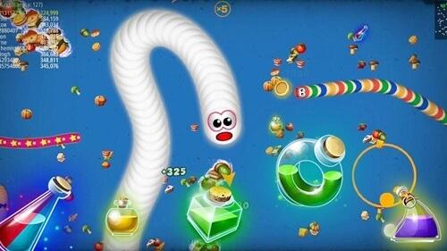 Cheat Worms Zone io Dengan Game Guardian