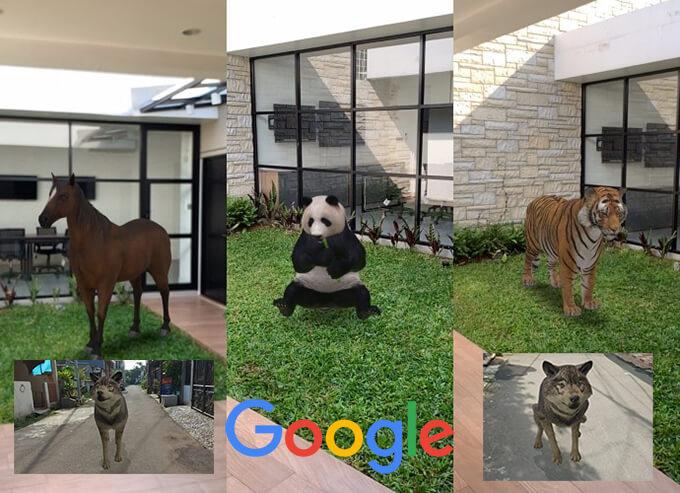 Cara Melihat Hewan 3D di Google