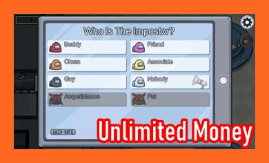 Among Us Mod Apk Unlimited Money