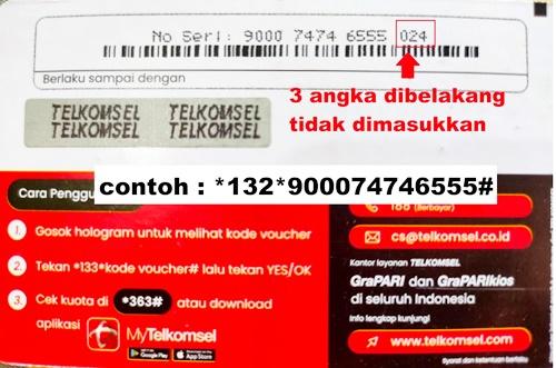 Cara Mengatasi Kode Voucher Telkomsel Yang Tidak Bisa di Gunakan